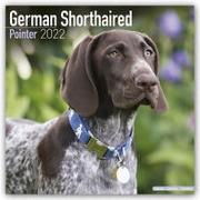 Cover-Bild zu German Shorthaired Pointers International - Deutsch Kurzhaar 2022 - 18-Monatskalender mit freier DogDays-App