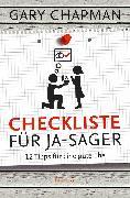 Cover-Bild zu Checkliste für Ja-Sager (eBook) von Chapman, Gary