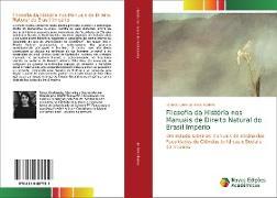 Cover-Bild zu de Melo Martins, Patrícia Carla: Filosofia da História nos Manuais de Direito Natural do Brasil Império