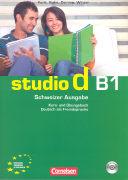 Cover-Bild zu studio d B1. Schweizer Ausgabe. Kurs- und Übungsbuch