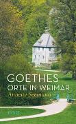 Cover-Bild zu Seemann, Annette: Goethes Orte in Weimar