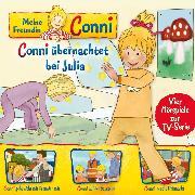 Cover-Bild zu Schneider, Liane: 08: Conni übernachtet bei Julia / Conni geht nicht mit Fremden mit / Conni auf der Baustelle / Conni macht Flohmarkt (Vier Hörspiele zur TV-Serie) (Audio Download)