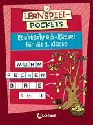 Cover-Bild zu Loewe Lernen und Rätseln (Hrsg.): Lernspiel-Pockets - Rechtschreib-Rätsel für die 1. Klasse