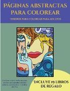 Cover-Bild zu Diseños para colorear para adultos (Páginas abstractas para colorear)