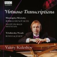 Cover-Bild zu Virtuoso Transcriptions