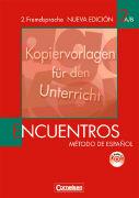Cover-Bild zu Encuentros 2 A/B. Nueva Edición. Kopiervorlagen für den Unterricht