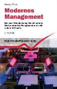 Cover-Bild zu Modernes Management von Füser, Karsten