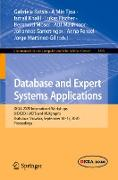 Cover-Bild zu Kotsis, Gabriele (Hrsg.): Database and Expert Systems Applications