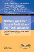 Cover-Bild zu Kotsis, Gabriele (Hrsg.): Database and Expert Systems Applications - DEXA 2021 Workshops (eBook)