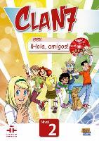 Cover-Bild zu Clan 7 con ¡Hola, amigos! 2 Libro alumno