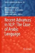 Cover-Bild zu Abd Elaziz, Mohamed (Hrsg.): Recent Advances in NLP: The Case of Arabic Language (eBook)