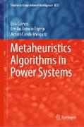 Cover-Bild zu Cuevas, Erik: Metaheuristics Algorithms in Power Systems (eBook)