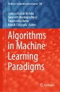 Cover-Bild zu Mandal, Jyotsna Kumar (Hrsg.): Algorithms in Machine Learning Paradigms (eBook)