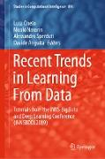 Cover-Bild zu Oneto, Luca (Hrsg.): Recent Trends in Learning From Data (eBook)