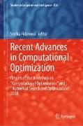 Cover-Bild zu Fidanova, Stefka (Hrsg.): Recent Advances in Computational Optimization (eBook)