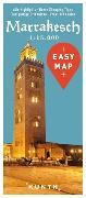 Cover-Bild zu KUNTH Verlag: EASY MAP Marrakesch. 1:15'000