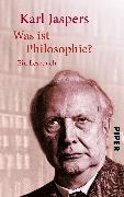 Cover-Bild zu Was ist Philosophie? von Jaspers, Karl