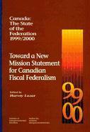 Cover-Bild zu Lazar, Harvey: Canada: The State of the Federation, 1999-2000