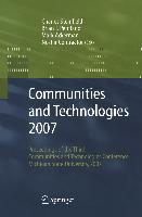 Cover-Bild zu Steinfield, Charles (Hrsg.): Communities and Technologies 2007