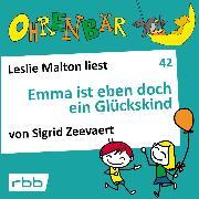 Cover-Bild zu Zeevaert, Sigrid: Ohrenbär - eine OHRENBÄR Geschichte, 4, Folge 42: Emma ist eben doch ein Glückskind (Hörbuch mit Musik) (Audio Download)