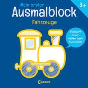 Cover-Bild zu Loewe Kreativ (Hrsg.): Mein erster Ausmalblock - Fahrzeuge
