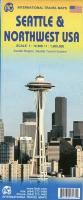 Cover-Bild zu Seattle & Northwest USA. 1:1'000'000 / 1:12'500 / 1:12'500