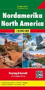 Cover-Bild zu Nordamerika, Kontinentkarte 1:8 Mio. 1:8'000'000