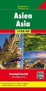 Cover-Bild zu Asien, Kontinentkarte 1:9 Mio. 1:9'000'000