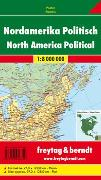 Cover-Bild zu Nordamerika physisch-politisch