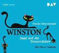 Cover-Bild zu Scheunemann, Frauke: Winston - Teil 3: Jagd auf die Tresorräuber