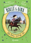 Cover-Bild zu Scheunemann, Frauke: Bulli & Lina - Ein Pony springt ein