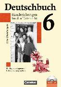 Cover-Bild zu Deutschbuch 6. Schuljahr. Neue Grundausgabe. Handreichungen für den Unterricht mit CD-ROM von Berghaus, Christoph