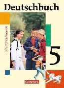 Cover-Bild zu Deutschbuch 5. Neue Grundausgabe. Schülerbuch von Berghaus, Christoph