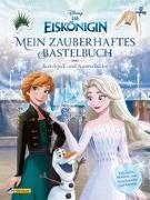Cover-Bild zu Disney, Walt: Disney Die Eiskönigin: Mein zauberhaftes Bastelbuch - Bastelspaß und Ausmalbilder!