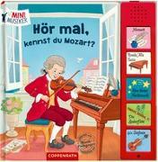 Cover-Bild zu Coulmann, Jennifer (Illustr.): Hör mal, kennst du Mozart?