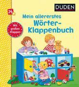 Cover-Bild zu Spanjardt, Eva (Illustr.): Duden 24+: Mein allererstes Wörter-Klappenbuch