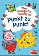 Cover-Bild zu Wagner, Charlotte: Mein Kindergarten-Rätselspaß. Punkt zu Punkt