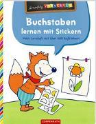 Cover-Bild zu Wagner, Charlotte (Illustr.): Buchstaben lernen mit Stickern