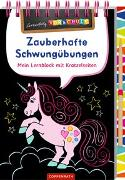 Cover-Bild zu Carstens, Birgitt: Zauberhafte Schwungübungen