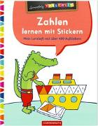 Cover-Bild zu Wagner, Charlotte (Illustr.): Zahlen lernen mit Stickern