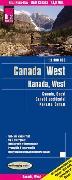 Cover-Bild zu Reise Know-How Landkarte Kanada West (1:1.900.000). 1:1'900'000