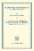 Cover-Bild zu Mises, Ludwig: Die geldtheoretische und geldrechtliche Seite des Stabilisierungsproblems