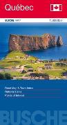 Cover-Bild zu Canada Québec. 1:800'000