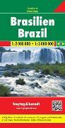 Cover-Bild zu Brasilien, Autokarte 1:2.000.000 - 1:3.000.000. 1:2'000'000