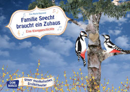 Cover-Bild zu Familie Specht braucht ein Zuhaus. Eine Klanggeschichte von Maywald, Eva-Maria