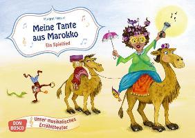 Cover-Bild zu Bildkarten für unser musikalisches Erzähltheater: Meine Tante aus Marokko. Ein Spiellied von Russer, Margret (Illustr.)