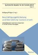 Cover-Bild zu Weber, Peter (Beitr.): Beschäftigungsförderung und betriebliche Soziale Arbeit (eBook)