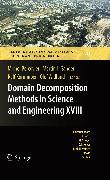 Cover-Bild zu Gander, Martin (Hrsg.): Domain Decomposition Methods in Science and Engineering XVIII (eBook)