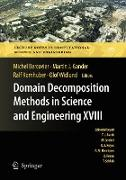 Cover-Bild zu Bercovier, Michel (Hrsg.): Domain Decomposition Methods in Science and Engineering XVIII