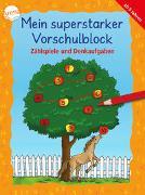 Cover-Bild zu Merle, Katrin: Mein superstarker Vorschulblock. Zählspiele und Denkaufgaben
